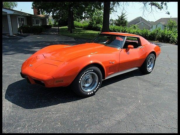 Bold 1977 Chevrolet Corvette Coupe 350 180 Hp Automatic Mecum