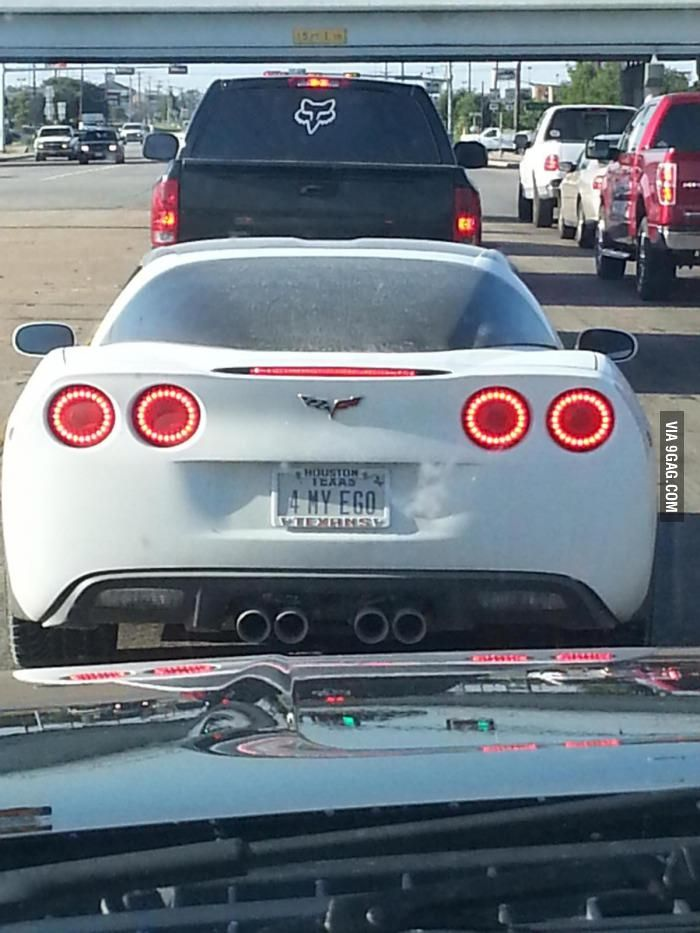 Best License Plate Frame >> Well...at least he's honest | Funny license plates, Cool ...