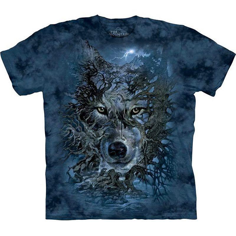 WOLF PACK HOWLING at Moon T-SHIRT Tee ~ Three Wolves Howling at Dusk ~ Nature