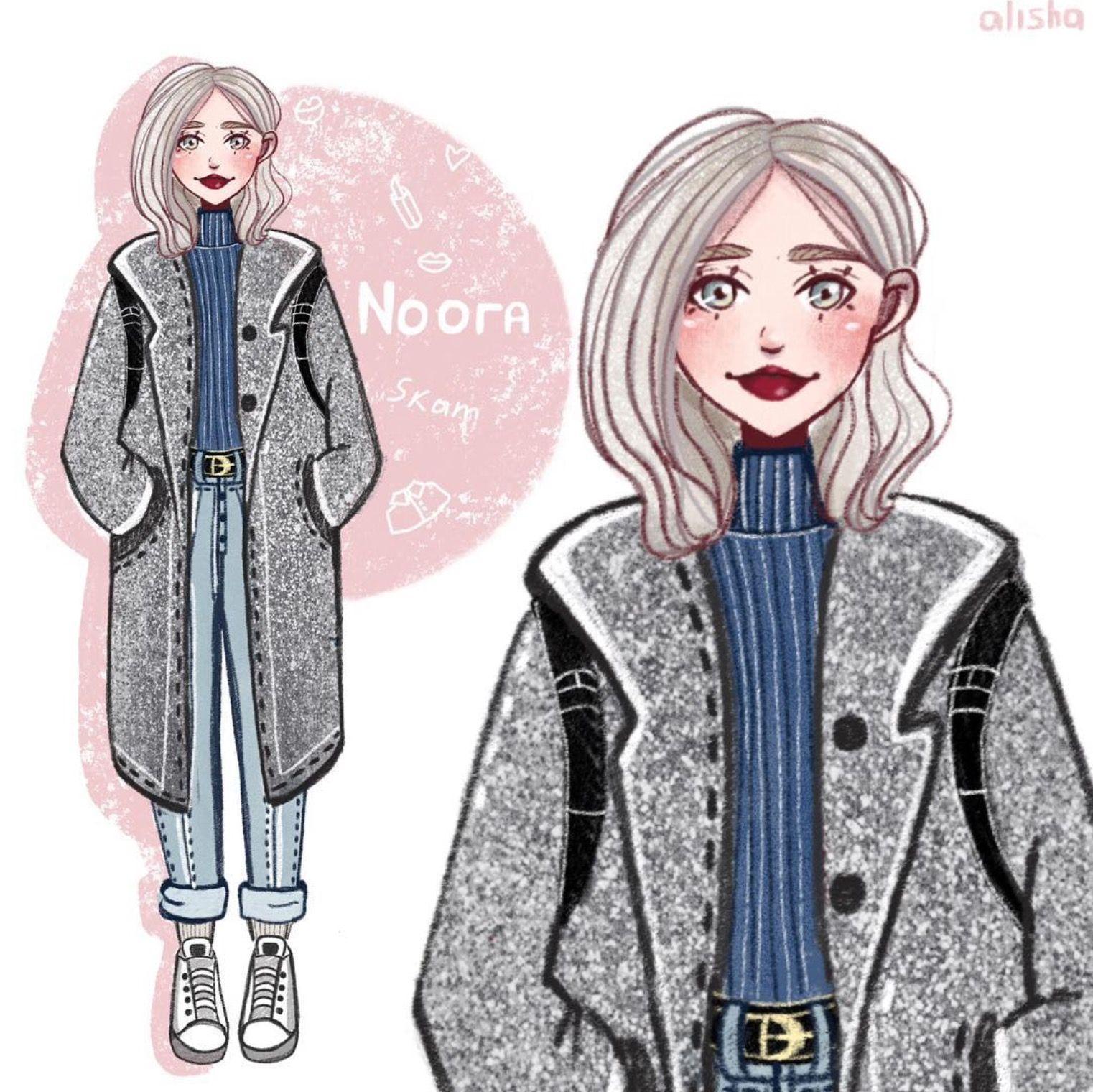 Character Design Idea~ By Alisha | Рисунки девушки ...