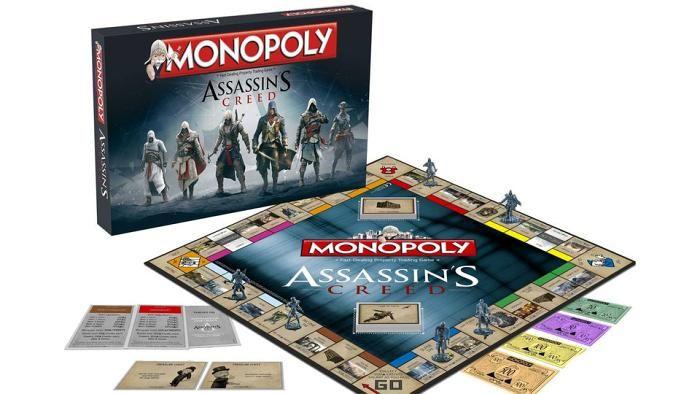 Assassins Creed Monopoly Assassins Creed Assassins Creed Unity