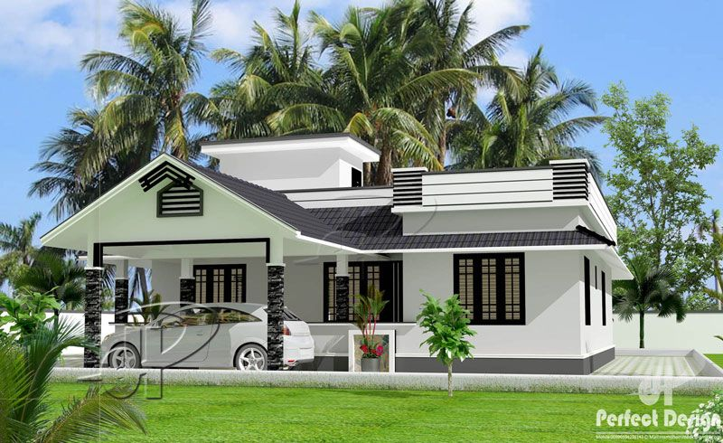 Beautiful One Storey Home Design Pinoy Eplans Beautiful House Plans Kerala House Design One Storey House