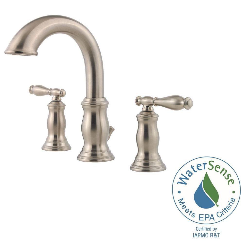 Pfister Hanover 8 In Widespread 2 Handle Bathroom Faucet In