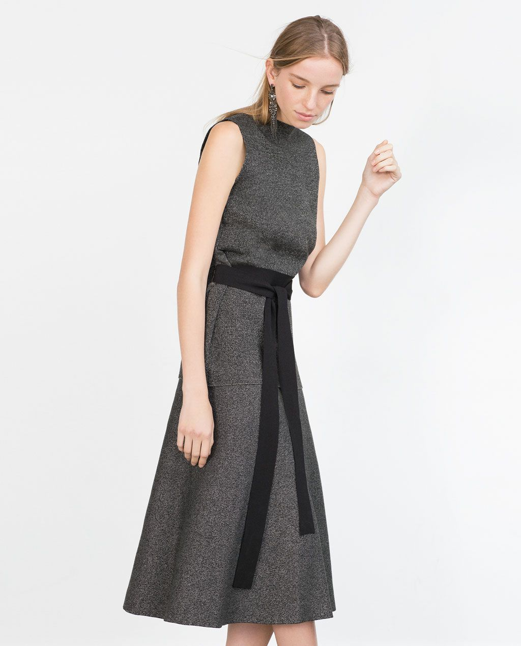 Image of long aline skirt from zara csiniwear pinterest