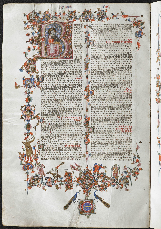 Anjou Bible, folio 138v, KU Leuven Libraries, Maurits Sabbe