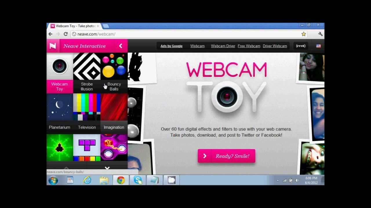 Webcam toy скачать бесплатно на компьютер