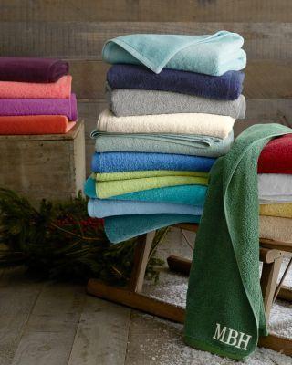 Signature Egyptian Cotton Bath Towels Garnet Hill Bath Towels