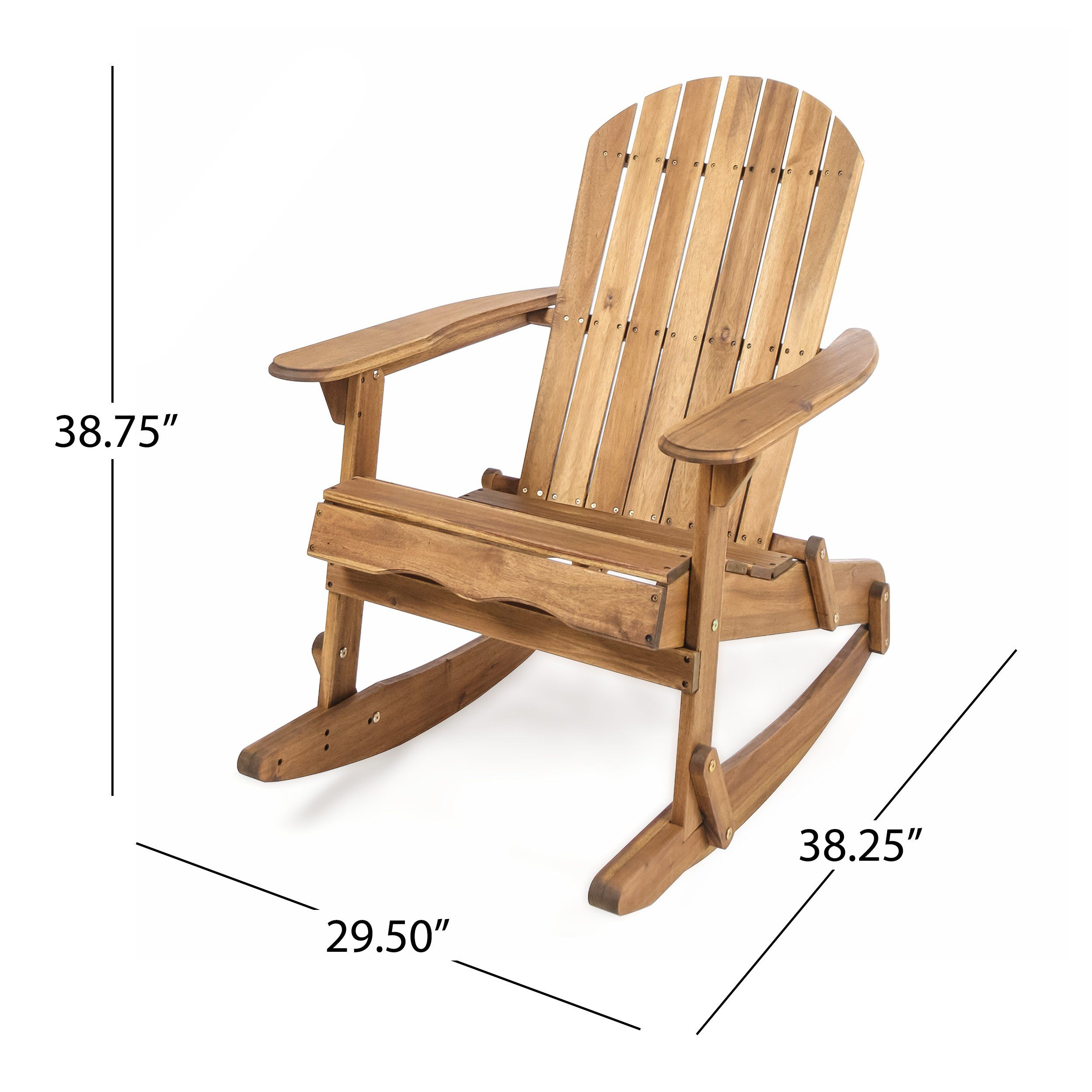 Surprising Great Deal Furniture Estelle Outdoor Natural Finish Acacia Pdpeps Interior Chair Design Pdpepsorg