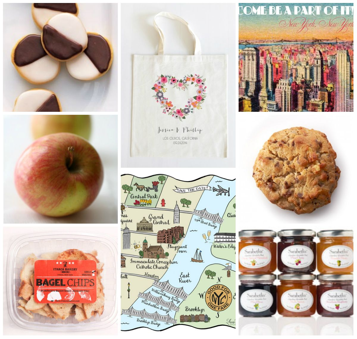 new york welcome boxes for guests | NYC Welcome Bag Ideas | Favors ...