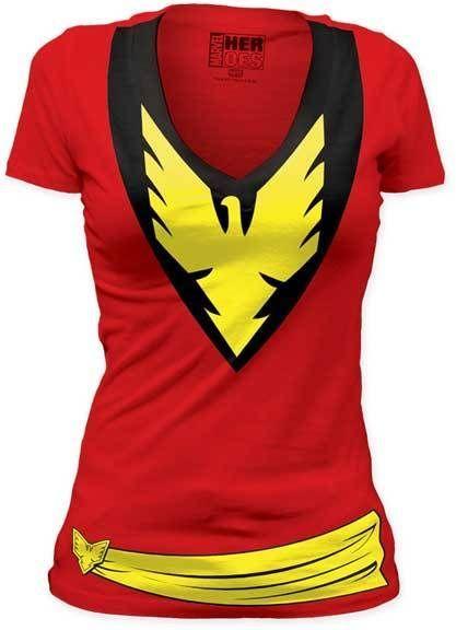 Dark Phoenix Jean Grey X-Men Women's Costume T-Shirt #backtoschool
