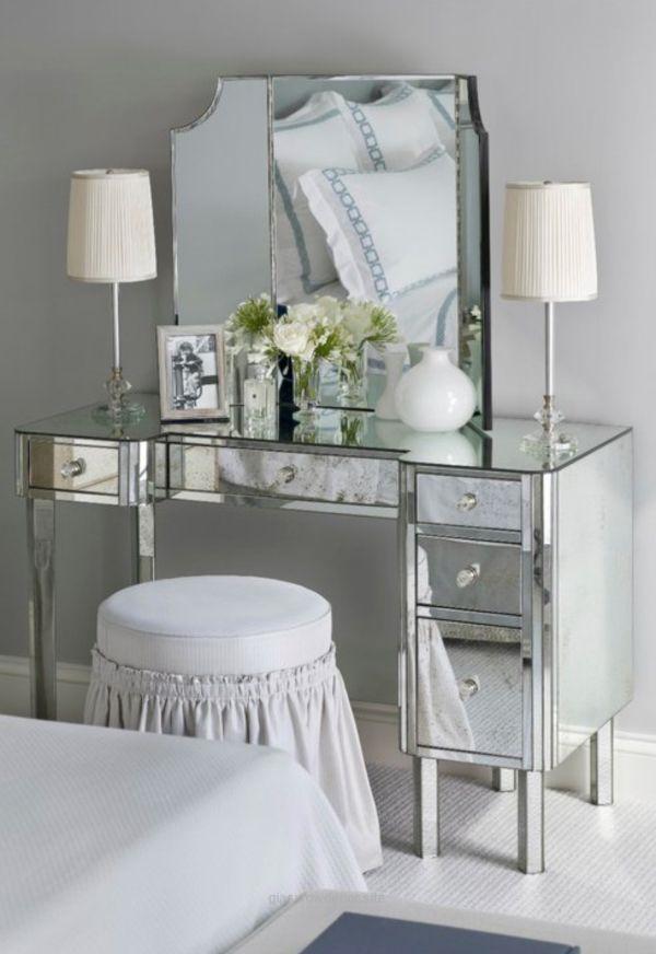 Bedroom Makeup Vanity with Lights make