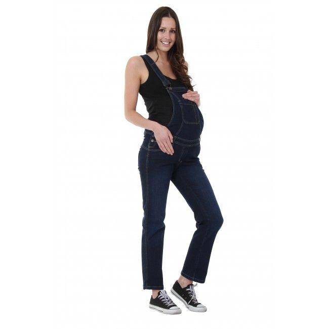 20194a8b1e1e Maternity Dungarees - Darkwash Denim.  overalls  maternitywear   pregnancywear