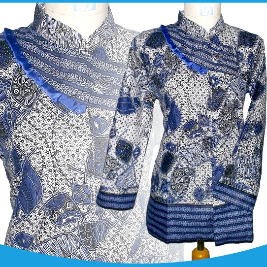 Model Baju Batik Atasan Guru Batik Kombinasi Di 2019 Model