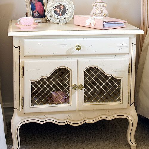 French Country Furniture Catalog | 749 STANLEY FURNITURE EUROPEAN FARMHOUSE  NIGHT STAND IN TERRIAN 866 .