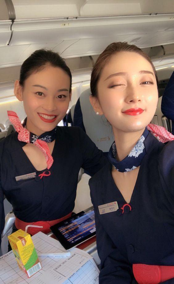 china eastern airlines cabin crew | kkk in 2018 | pinterest | cabin