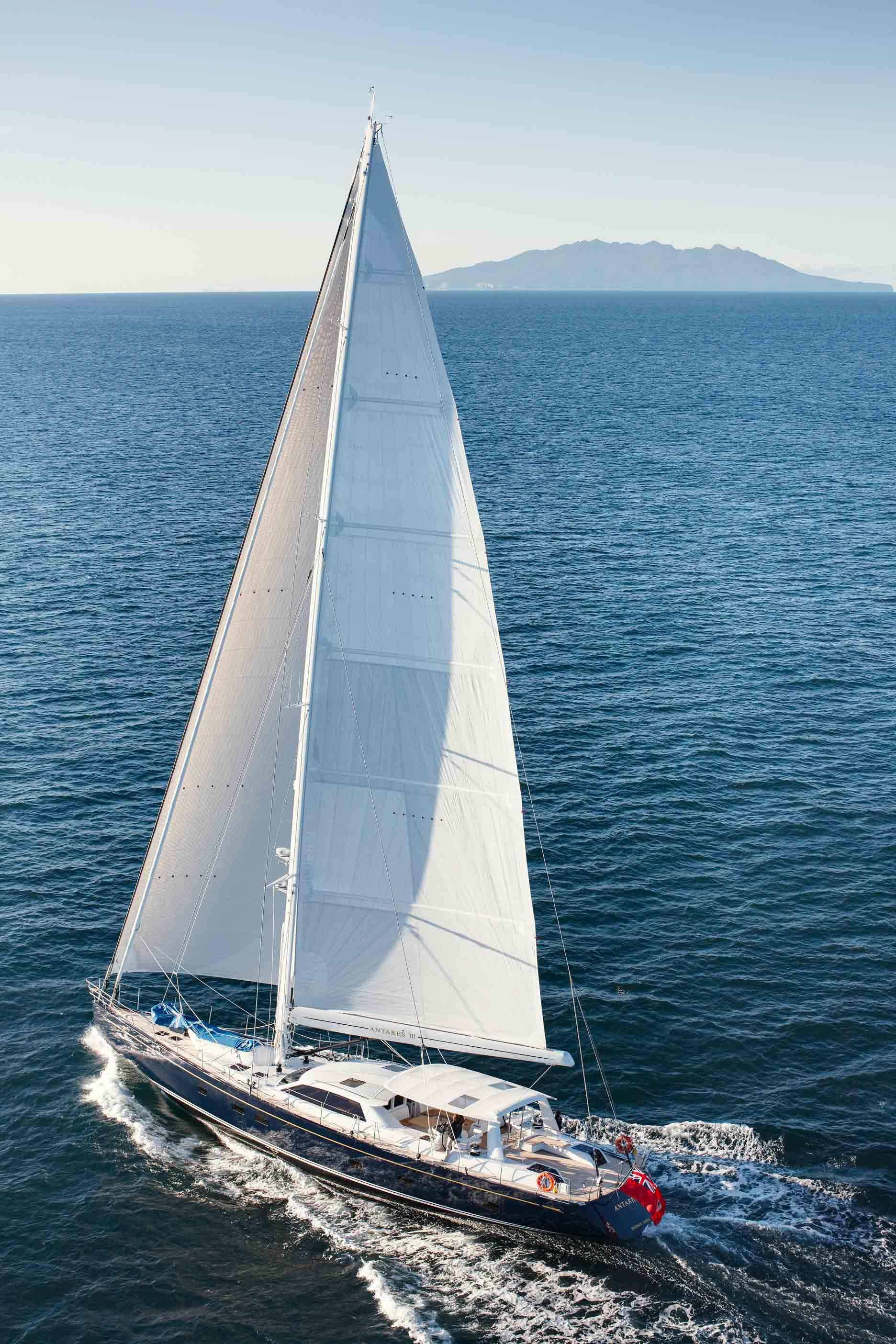 Image Detail For Sailing Yacht Antares Iii Sailing