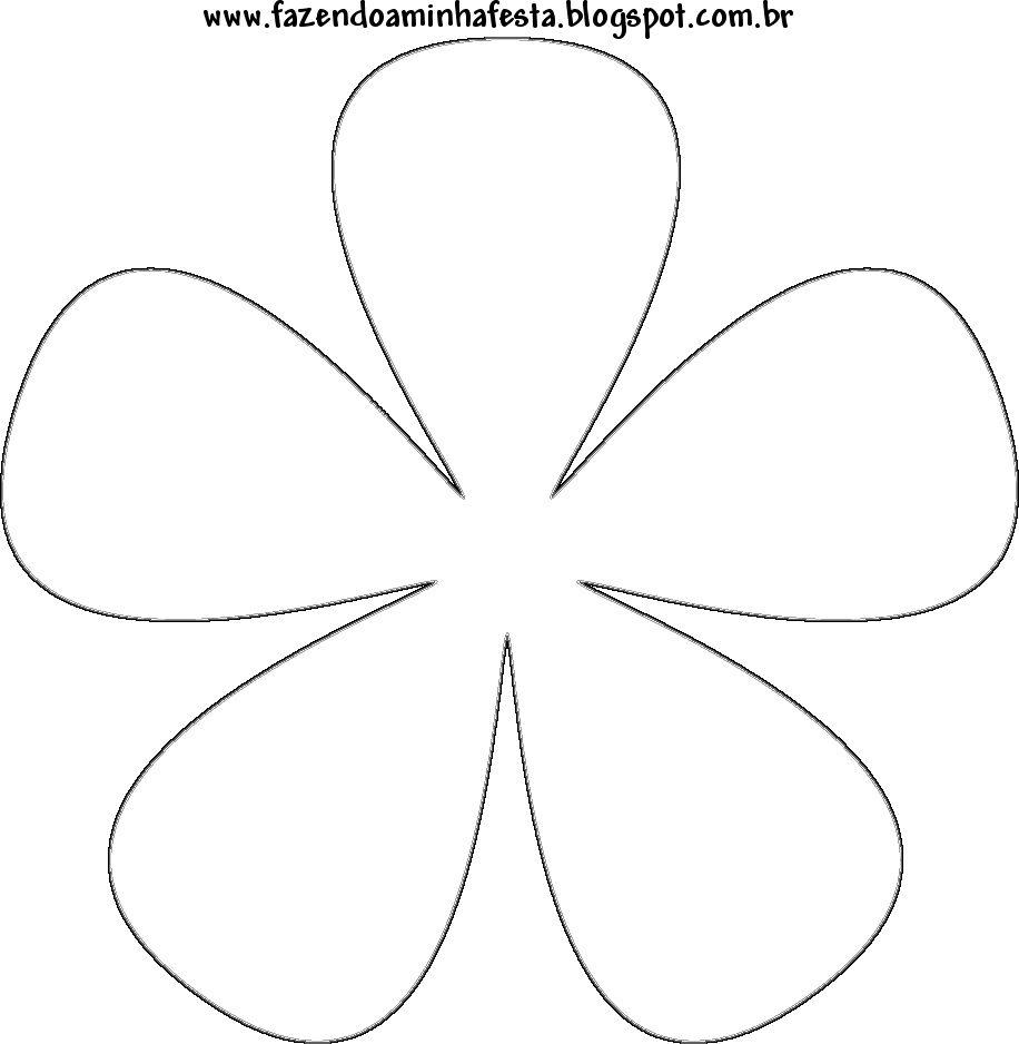Moldes de Flores | Papel para imprimir, Flores de papel y Patrones