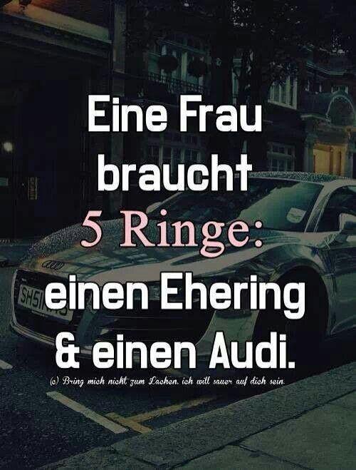 Audispruch | Lustige Sprüche | Audi quotes, Audi und Audi rs6