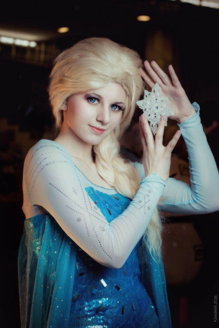 Elsa. Frozen cosplay by Kawaielli on DeviantArt