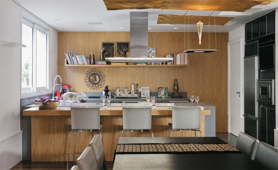 Oito cozinhas organizadas, bonitas e com ótima solução de espaço ...