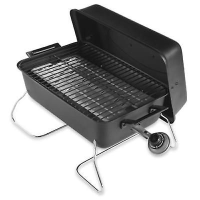 Portable Tabletop Gas Grill Standard Travel Cooking Bbq Outdoor