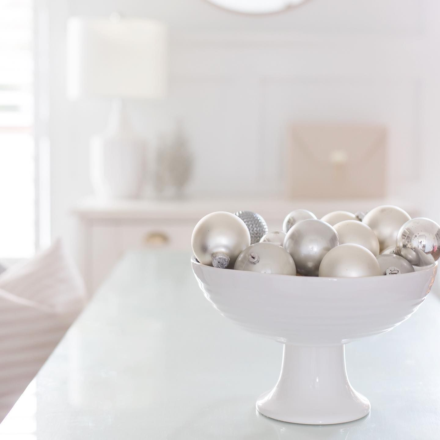 Glass And Silver Orniment Featured In 2020 White House Christmas This year I couldn't use any of my glass ornaments on the tree. I