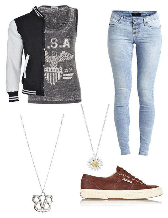 """""""Untitled #25"""" by moonlightpanda1 ❤ liked on Polyvore featuring Superga, Object Collectors Item, maurices and Daisy Jewellery"""