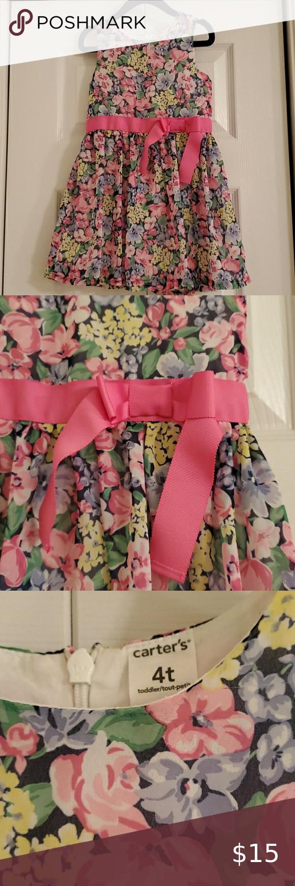 Carter S Party Dress 4t In 2020 Party Dress 4t Dress Girls Party Dress [ 1740 x 580 Pixel ]