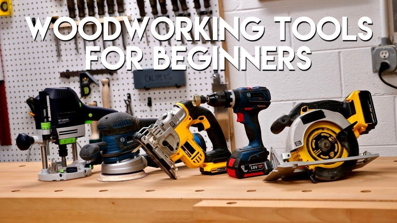 7 Essential Woodworking Power Tools List All Woodworkers Must Have