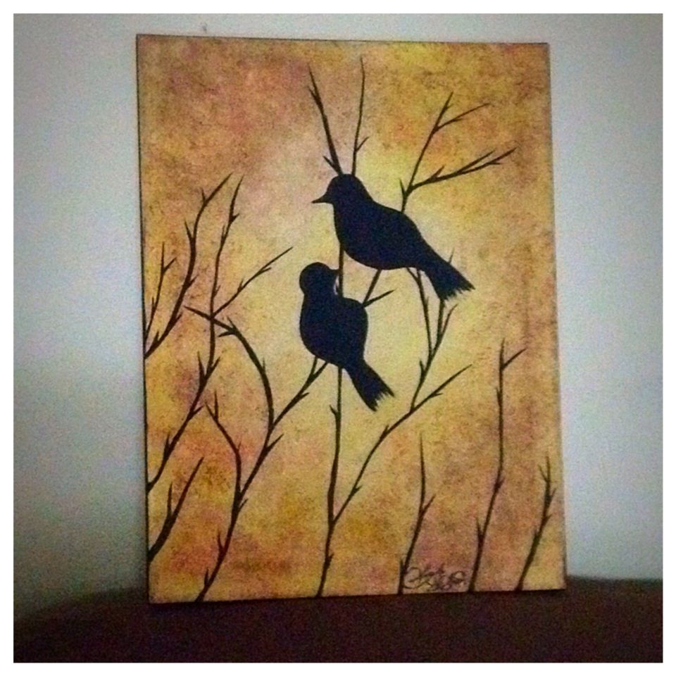 My Latest Little Painting For The Shop Paitings Canvas Nature