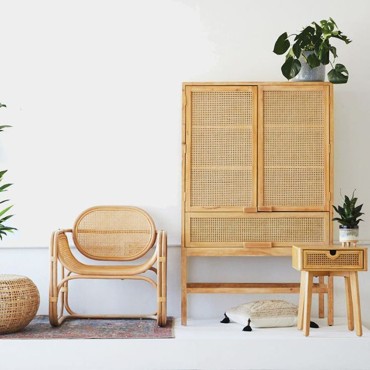 This Rattan Décor Line Is So Popular That Urban Outfitters Can't Keep It Stocked