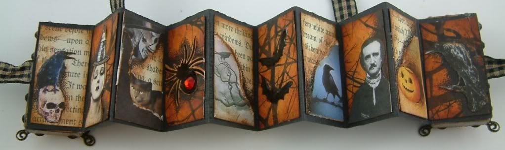 Laura Carson - inside the Poe domino book