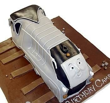 Spencer Train Cake