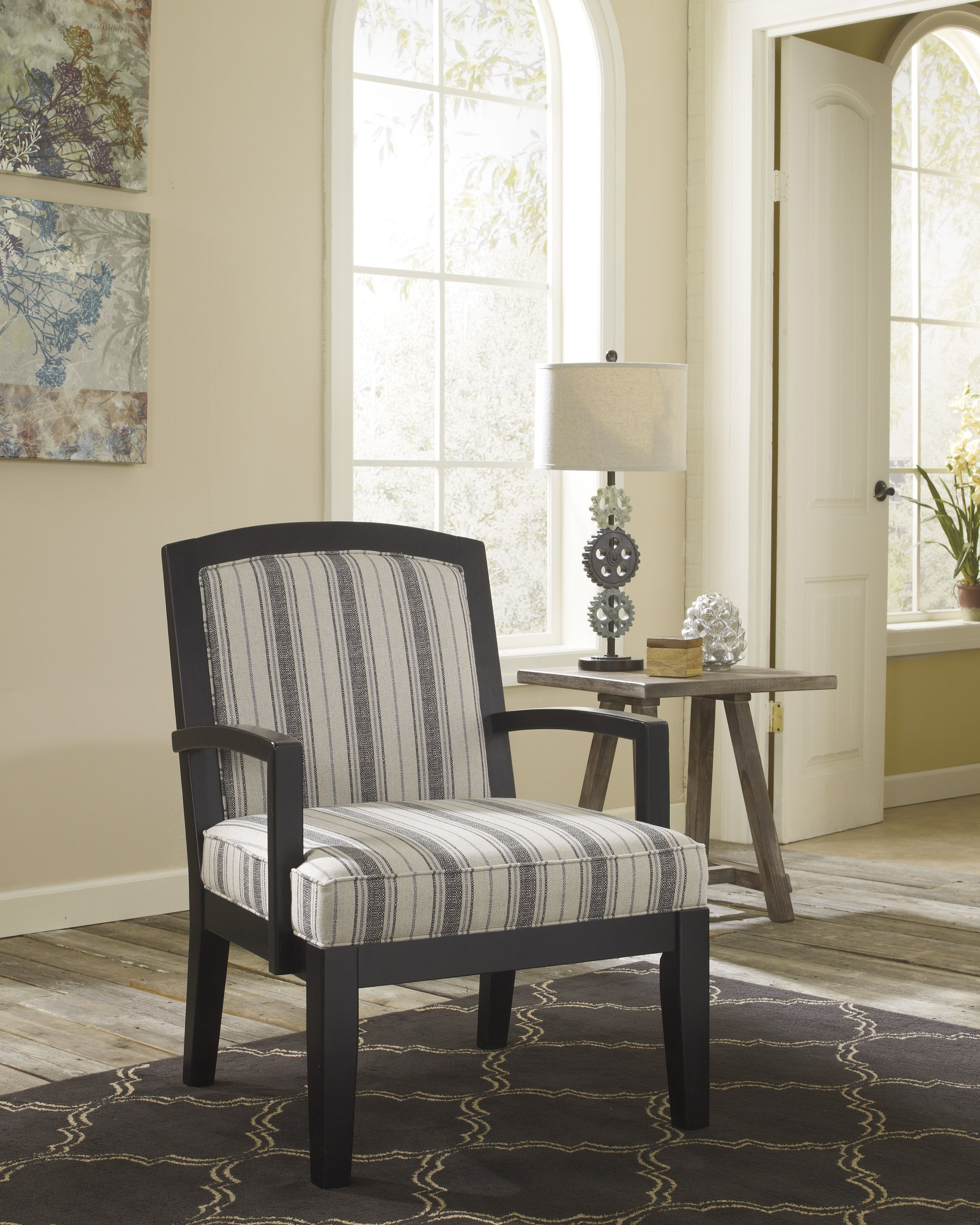 Ashley Furniture 166060 Alenya Showood Chair | Accent Chairs | Pinterest