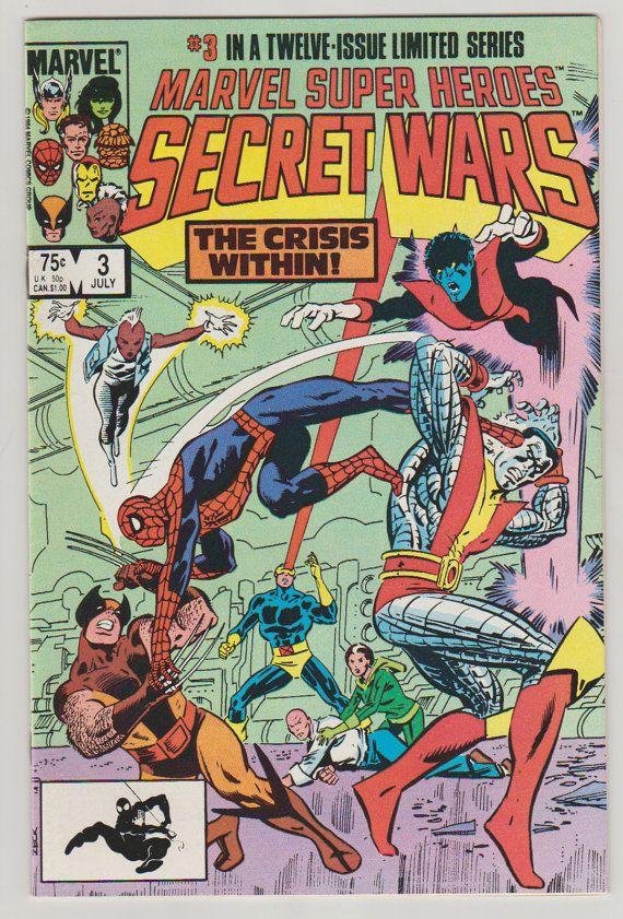 Marvel Super Heroes Secret Wars Vol 1 3 Copper Age Comic #secretwars #comicsforsale