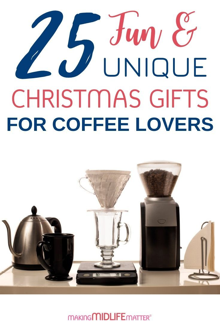 25 Christmas Gifts Every Coffee-Lover Will Love