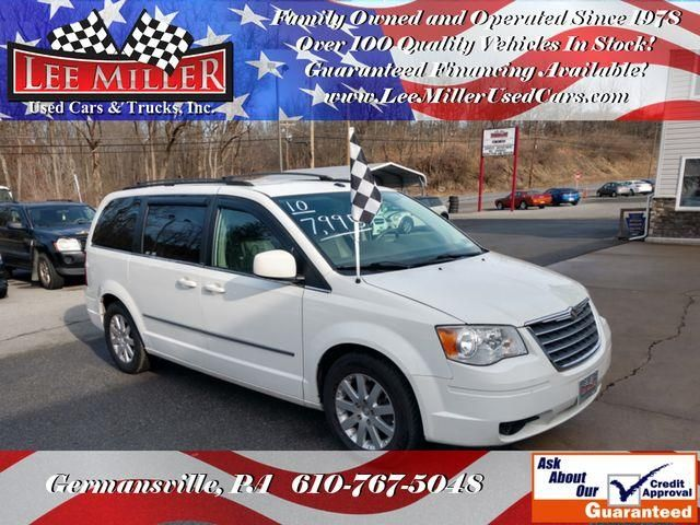 2010 Chrysler Town Country Touring Minivan 4d Used Cars