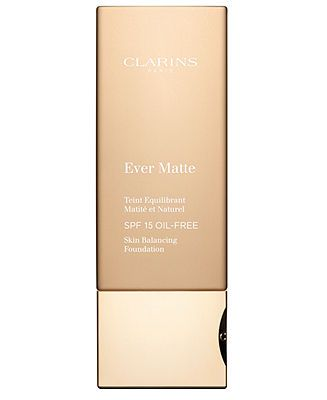 Clarins Ever Matte Skin Balancing Foundation - Foundation & Concealer - Beauty - Macy's