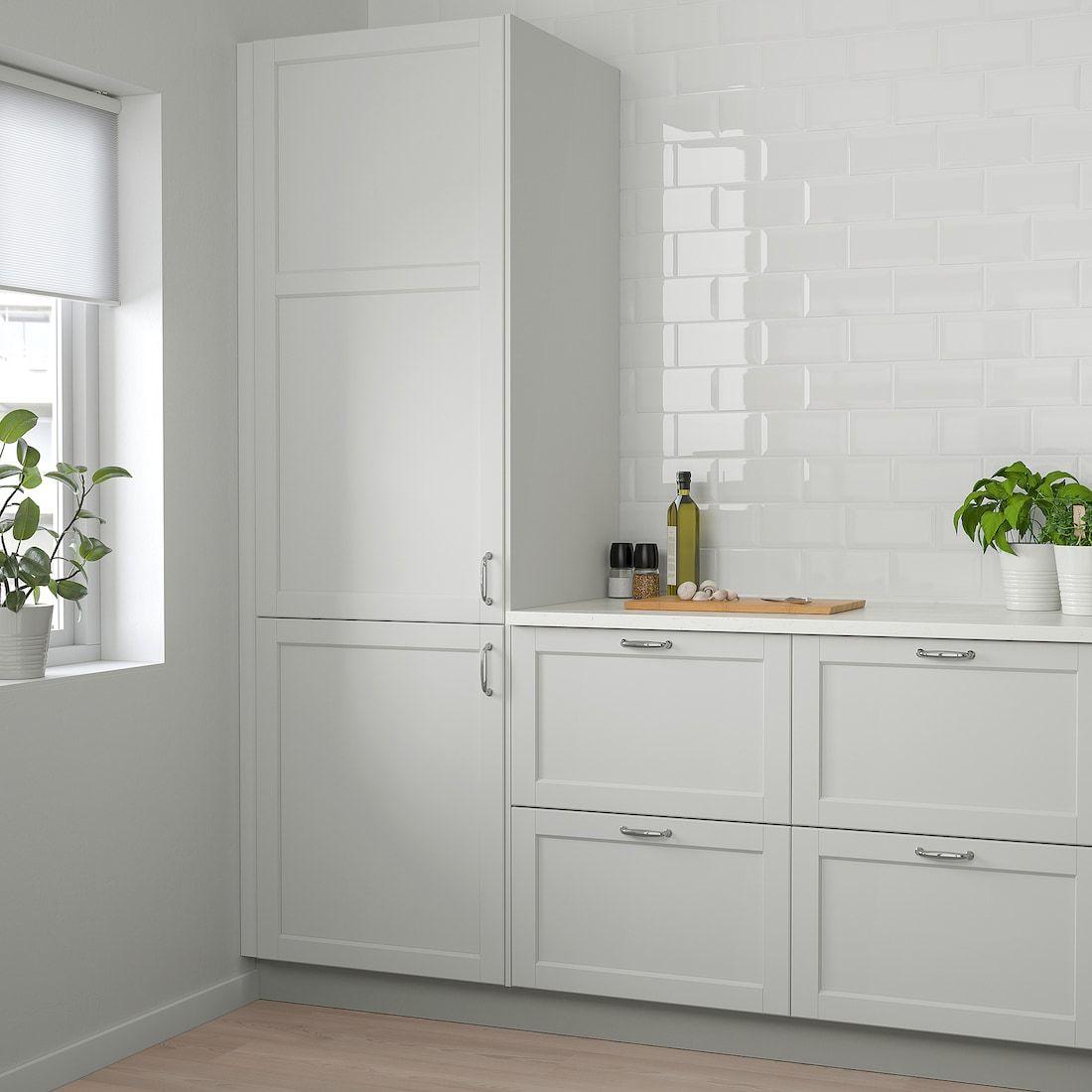 Lerhyttan Door Light Gray 21x30 Ikea Ikea Kitchen Storage Kitchen Doors Ikea Kitchen