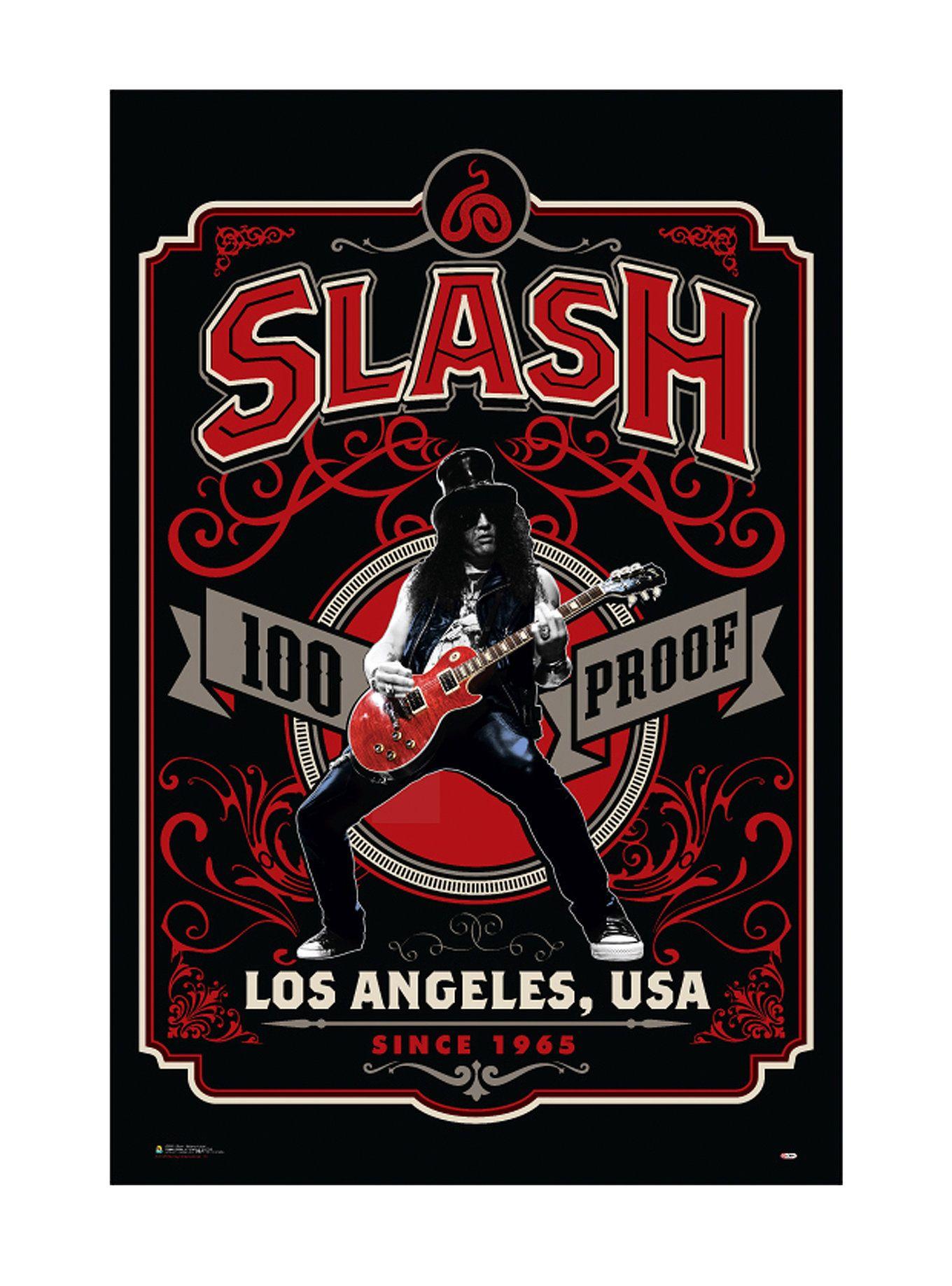 Guns n roses critical solution - Buy Art For Less Guns N Roses Slash Whiskey Label 100 Proof Los Angeles Framed Graphic Art You Ll Love
