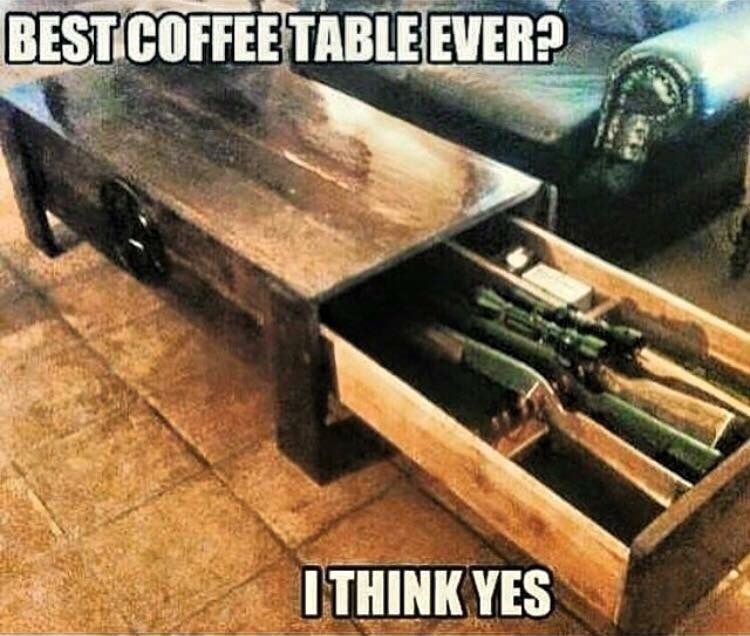 Best redneck coffee table ever But I could also see this being used