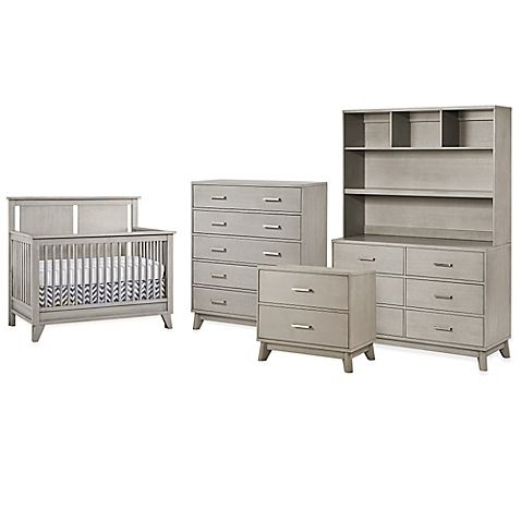 Munire Wyndham Nursery Furniture Collection Featuring 4 In 1 Convertible Crib
