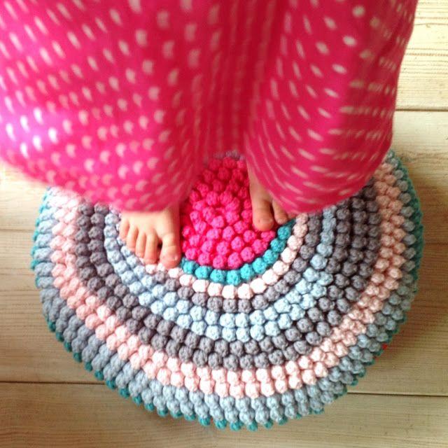 Haken bij Saar en Mien: Tutorial tulpsteek kussen | Crochet | Pinterest