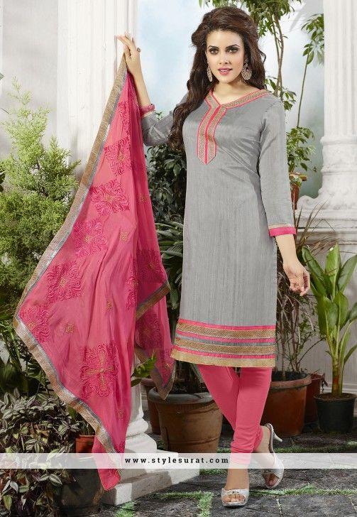 Dress magenta color salwar kameez