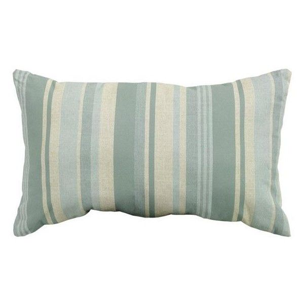 Breezeway Stripe 40 Wide Outdoor Pillow 4040 RUB Liked On Stunning Home Decorators Outdoor Pillows