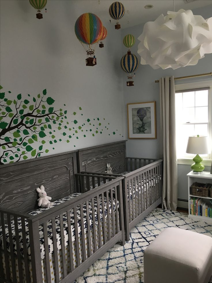 Our Gender Neutral Twins Nursery Cant Wait For Them To