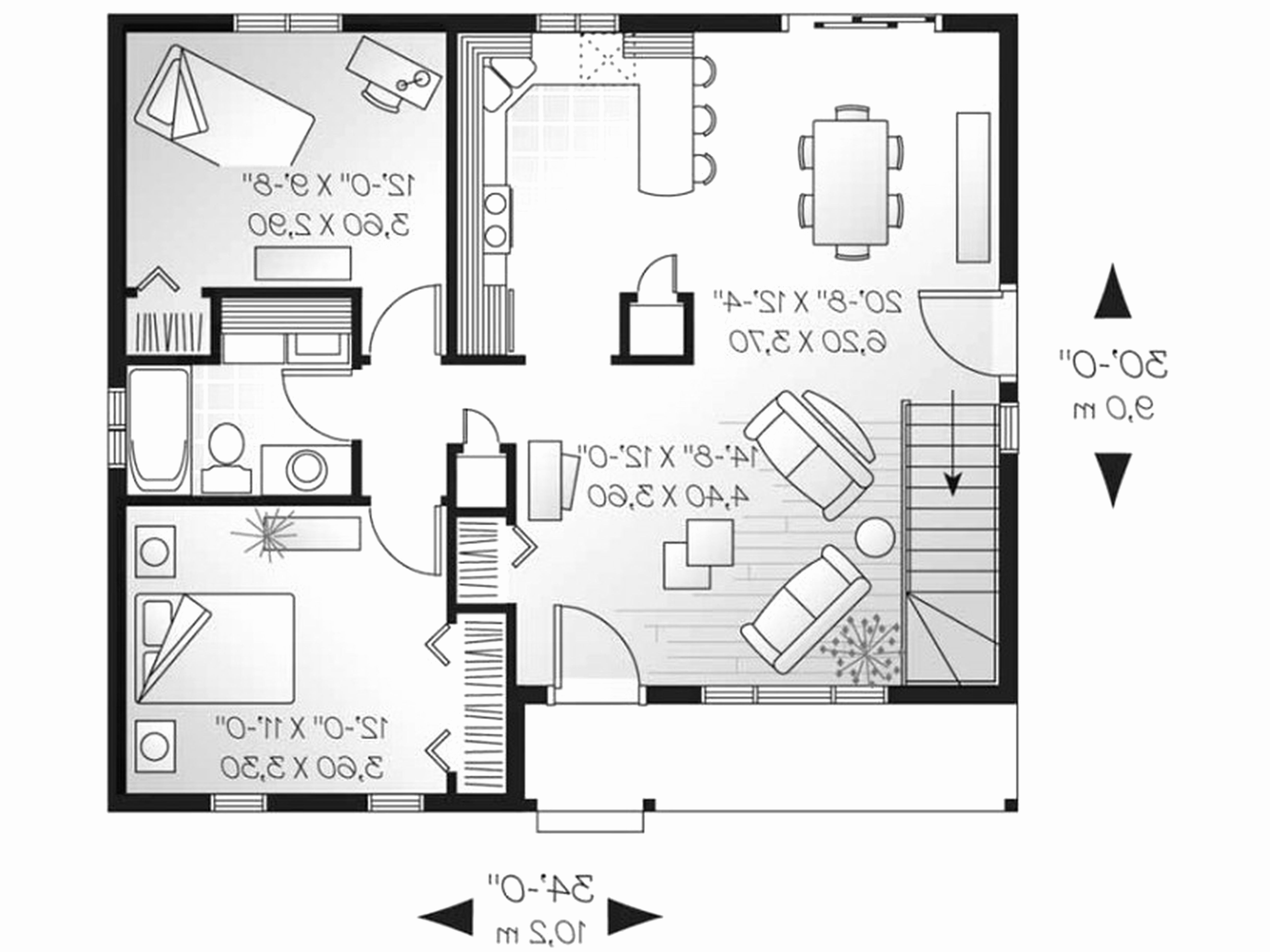 10 best of small house plans under 1000 sq ft check more on best tiny house plan design ideas id=31636