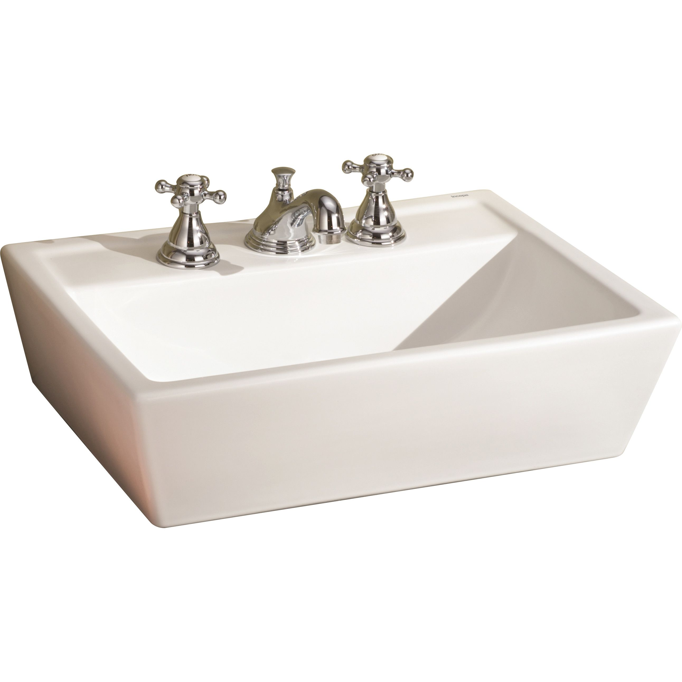 Sentire ceramic rectangular vessel bathroom sink also sinks and