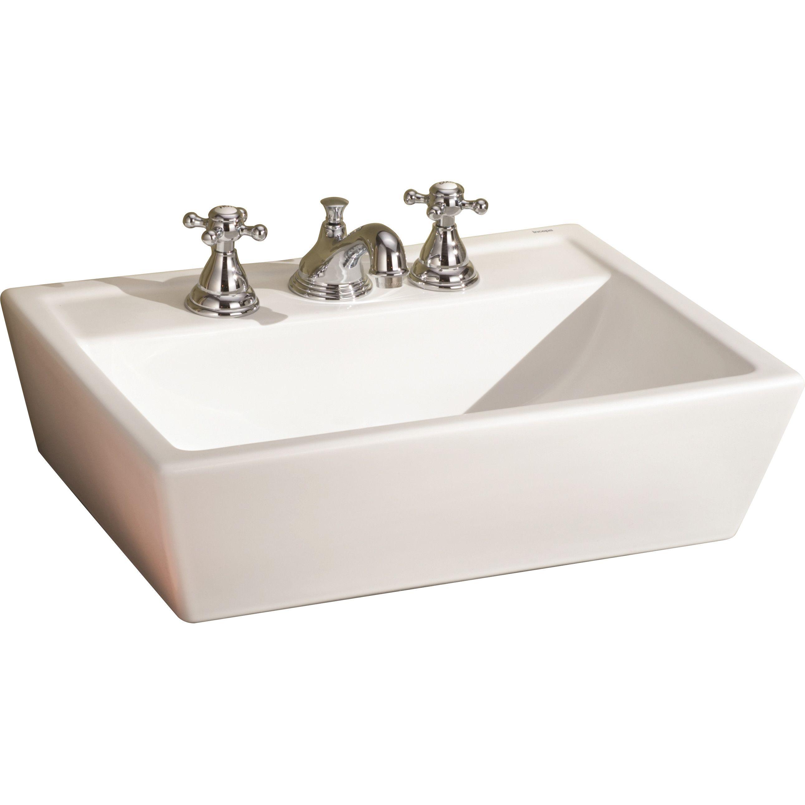charming Wayfair Vessel Sinks Part - 3: Sentire Ceramic Rectangular Vessel Bathroom Sink