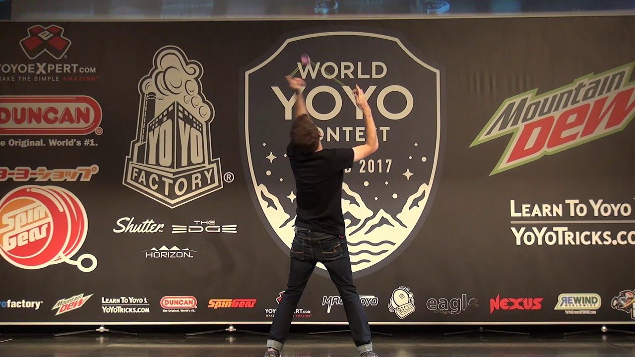I turned on my GBA and fought the final boss at this weekend's World Yoyo Championship.